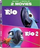 Rio 2-Movie Collection 2017 Blu-ray