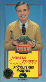 Mister Rogers Home Video - Dinosaurs and Monsters VHS