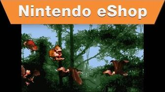 Nintendo eShop - Donkey Kong Swings onto the Virtual Console Trailer