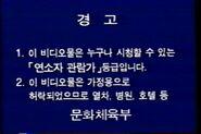 Korean Warning Scroll 3-1 (1994)