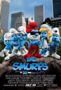 Smurfs poster