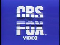 1983 CBS-FOX Video Logo