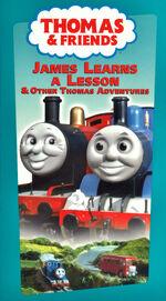 JamesLearnsaLesson 2001VHS