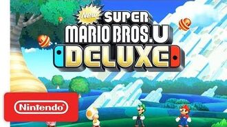 New Super Mario Bros. U Deluxe - Announcement Trailer - Nintendo Switch