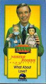 Mister Rogers Home Video - What About Love VHS