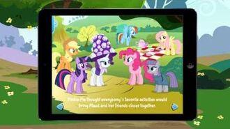 MY LITTLE PONY Pinkie Pie's Sister App Trailer