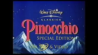 Pinocchio Special Edition Trailer (2003, UK)
