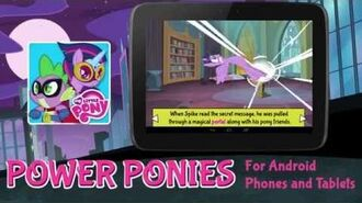 MY LITTLE PONY Power Ponies Android App Trailer