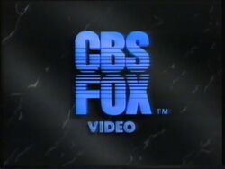 1984 CBS-FOX Video Logo