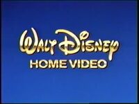 Walt Disney Home Video (1992-B)