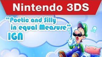 Nintendo 3DS - Mario & Luigi Dream Team Accolades Trailer