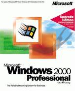 Windows2000pro upgrade