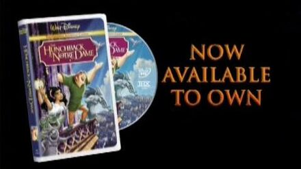 The Hunchback of Notre Dame 2002 DVD Trailer