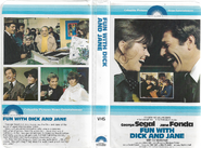 Fun With Dick And Jane 1980 Vhs Cover