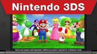 Nintendo 3DS - Mario Party Island Tour Launch Trailer