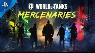 World of Tanks Mercenaries - Launch Trailer PS4