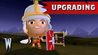Official World of Warriors Upgrading Your Warrior