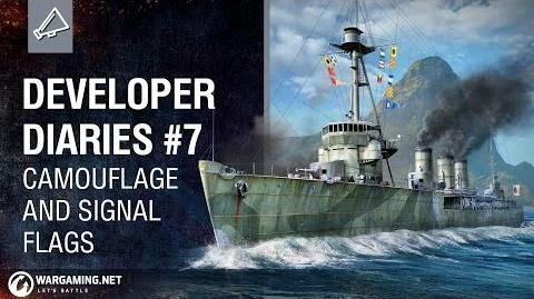 Developer Diaries Camouflage and Signal Flags