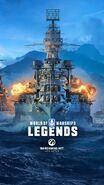 Key Art - World of Warships Legends
