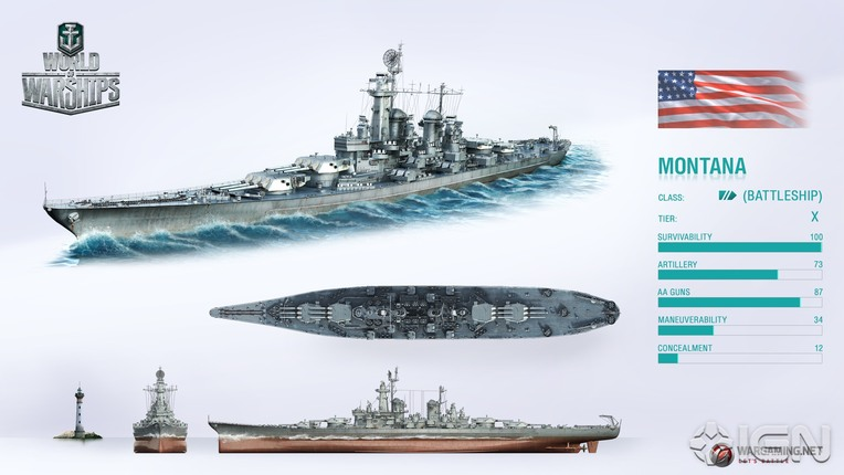 Montana world of warships wiki fandom powered by wikia - Yamato render ...