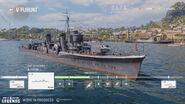 Fubuki - World of Warships Legends