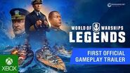 World of Warships Legends – First Offical Gameplay Closed Beta Trailer Xbox One