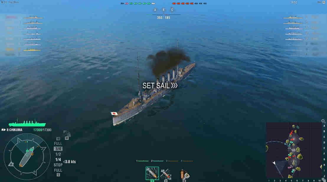 Battle HUD | World of Warships Wiki | FANDOM powered by Wikia