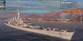 USS Norrth Carolina