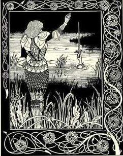 Arthur & the Sword in Water I