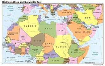 North African Campaign | World War II Wiki | FANDOM powered ... on middle east borders after ww1, ottoman empire map after ww1, simple map of russia after ww1, map religions ottoman,