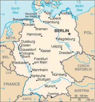 Image   Germany Map.   World War II Wiki   FANDOM powered by Wikia