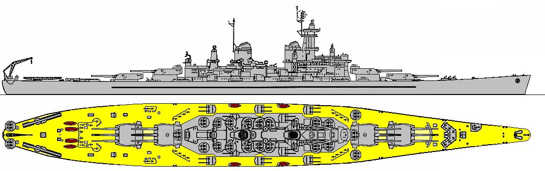 Montana Class Battleship World War Ii Wiki Fandom