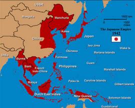Japanese empire1942