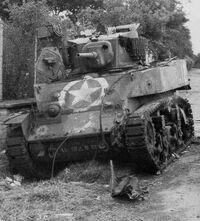 M5 Stuart, Normandy 1944