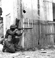 Canadian Rifleman, Ortona 1943