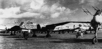 Heinkel He 219A, Captured Denmark