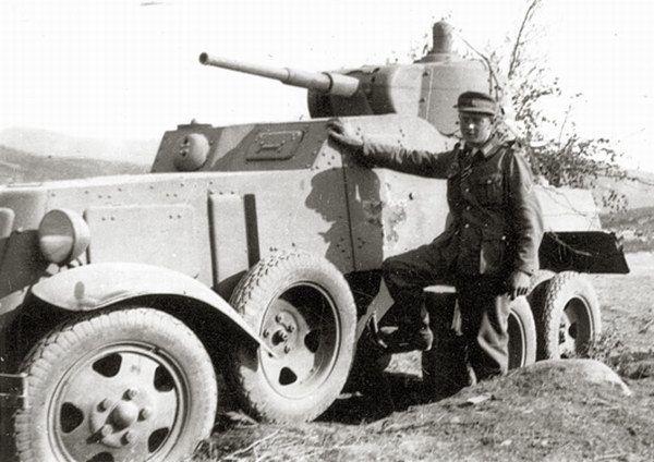ผลการค้นหารูปภาพสำหรับ ba-10 armored car