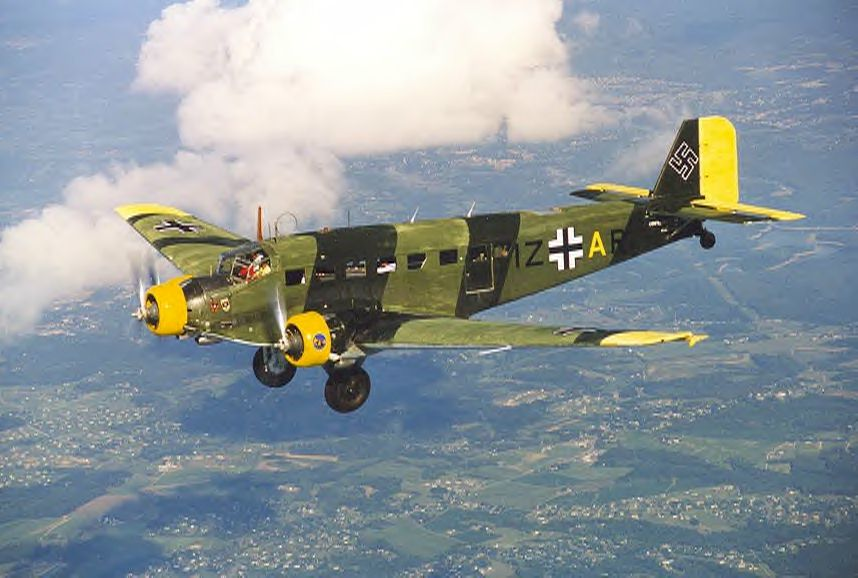 Giant 20ft. Rc Junkers Ju-52 - YouTube
