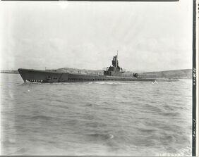 USS Spadefish (SS-411), 1944