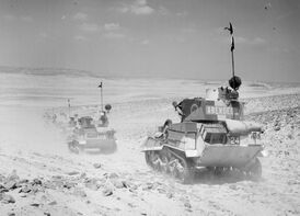 7th Armored Division tanks Patrol, 1940