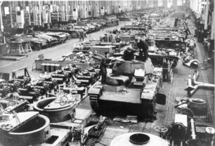 German Factory Production