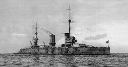 Gangut battleship