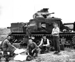 M3 Lee, North Africa 1942