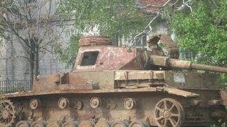 Panzer Wrecks in Bulgaria