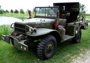 M6 Motor Gun Carriage