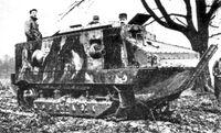 Schneider CA1 (M16) tank