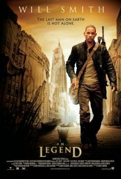 Постер фильма Я-легенда