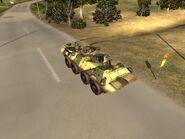 BTR--80 road