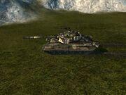 T-80U ruins