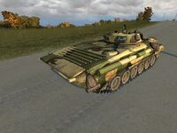 BMP-2 hull